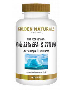 Golden Naturals Visolie 33% EPA & 22% DHA 60 softgel capsules