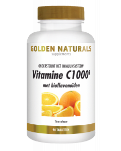 Golden Naturals Vitamine C1000 met bioflavonoïden 90 tabletten