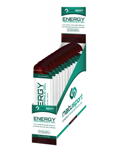 NatuSport Energy Performance Gel - Cola Cafeine 12 x 40 gram