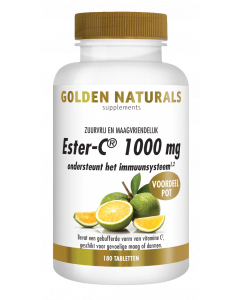 Golden Naturals Ester-C 1000 mg 180 tabletten