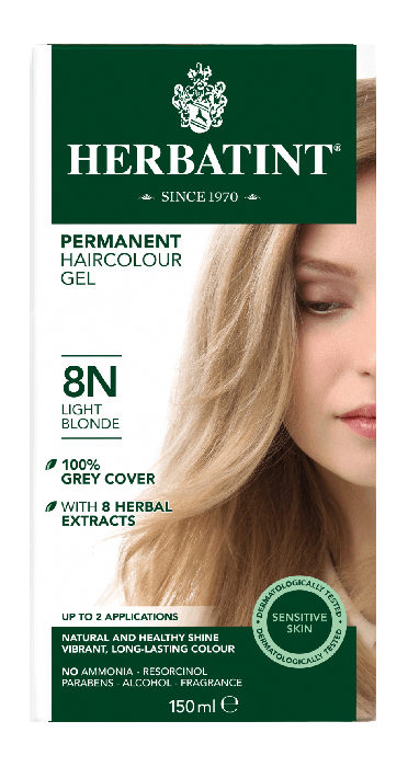 Herbatint 8N Light Blonde 150 milliliter