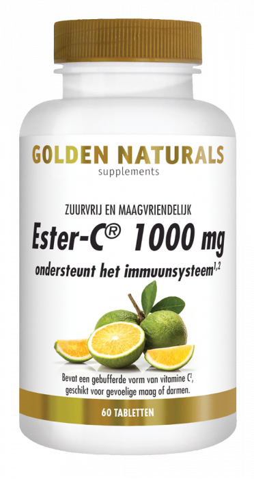 Golden Naturals Ester-C 1000 mg 60 tabletten