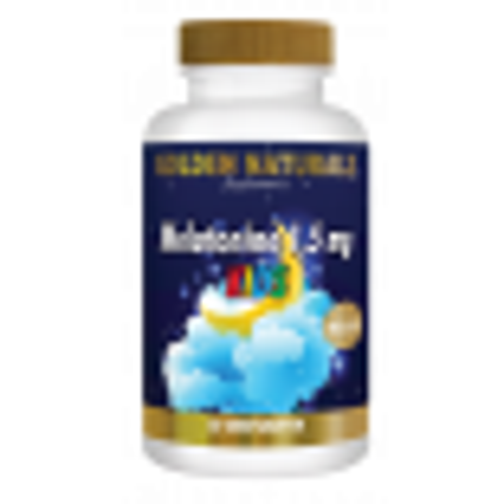 _Golden Naturals Melatonine 1,5 mg 60 tabl KIDS GN-319
