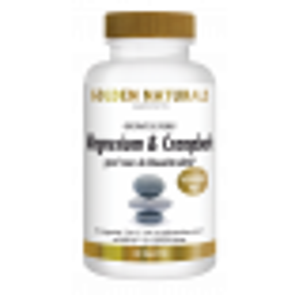 _Golden Naturals Magnesium en Crampbark 180 tabl Voordeelpot GN-483
