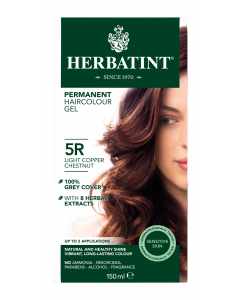 Herbatint 5R Light Copper Chestnut 150 milliliter