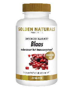 Golden Naturals Blaas 180 tabletten