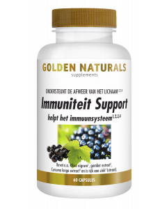 Golden Naturals Immuniteit Support 60 capsules
