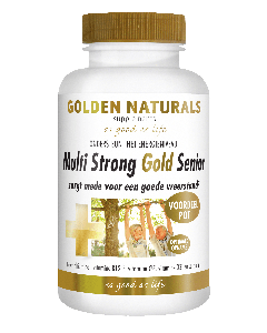 Golden Naturals Multi Strong Gold Senior 180 vegetarische capsules