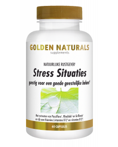 Golden Naturals Stress Situaties 60 capsules