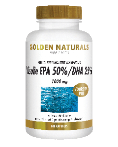 Golden Naturals Visolie EPA 50%/DHA 25% 1000 mg 180 capsules