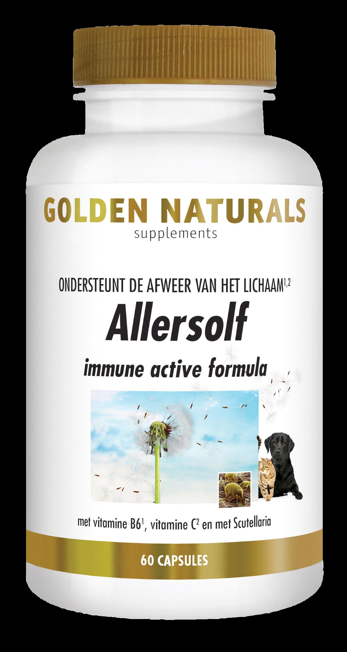 Golden Naturals Allersolf (60 capsules)
