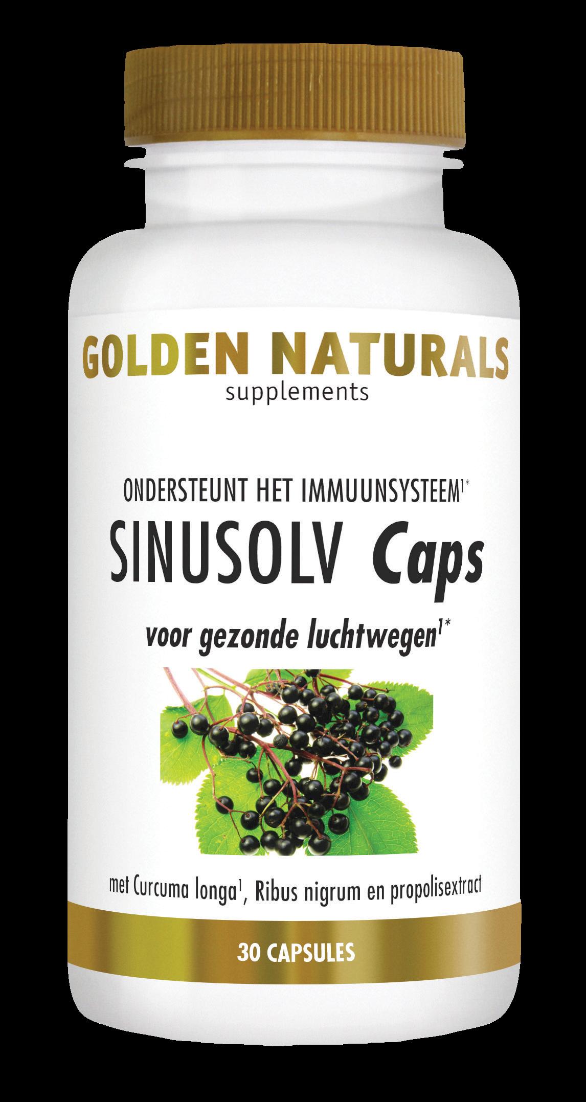 Golden Naturals SinuSolv (30 capsules)