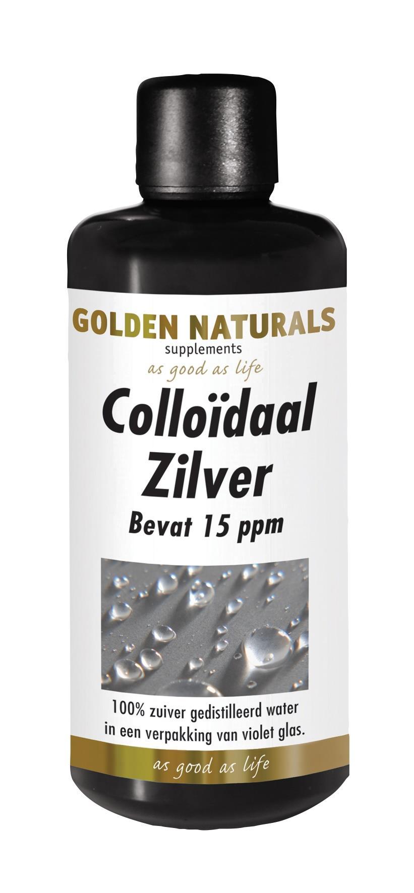 Golden Naturals Colloïdaal Zilver (100 milliliter)