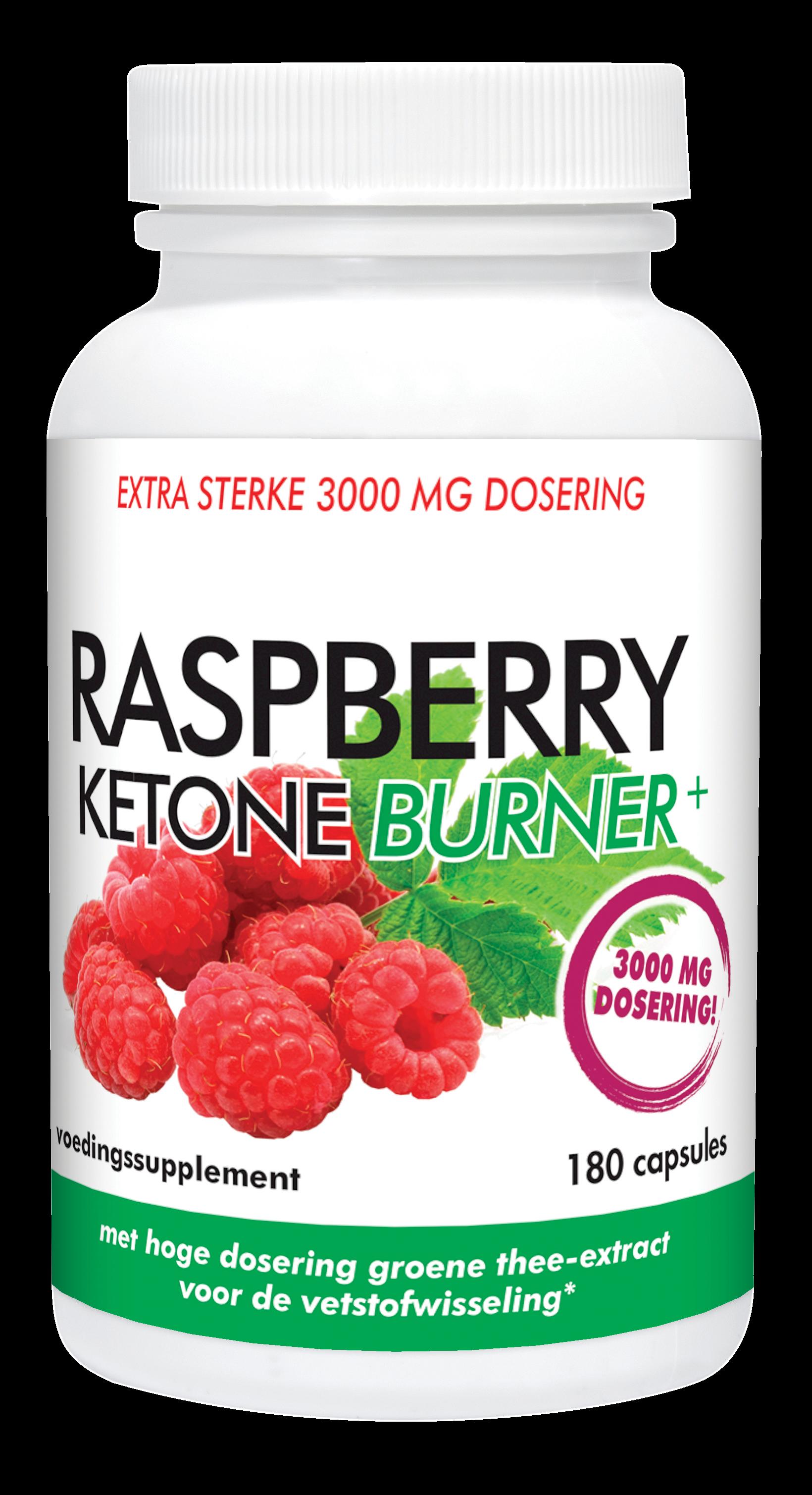 Natusor Raspberry Ketone Burner+ (180 capsules)