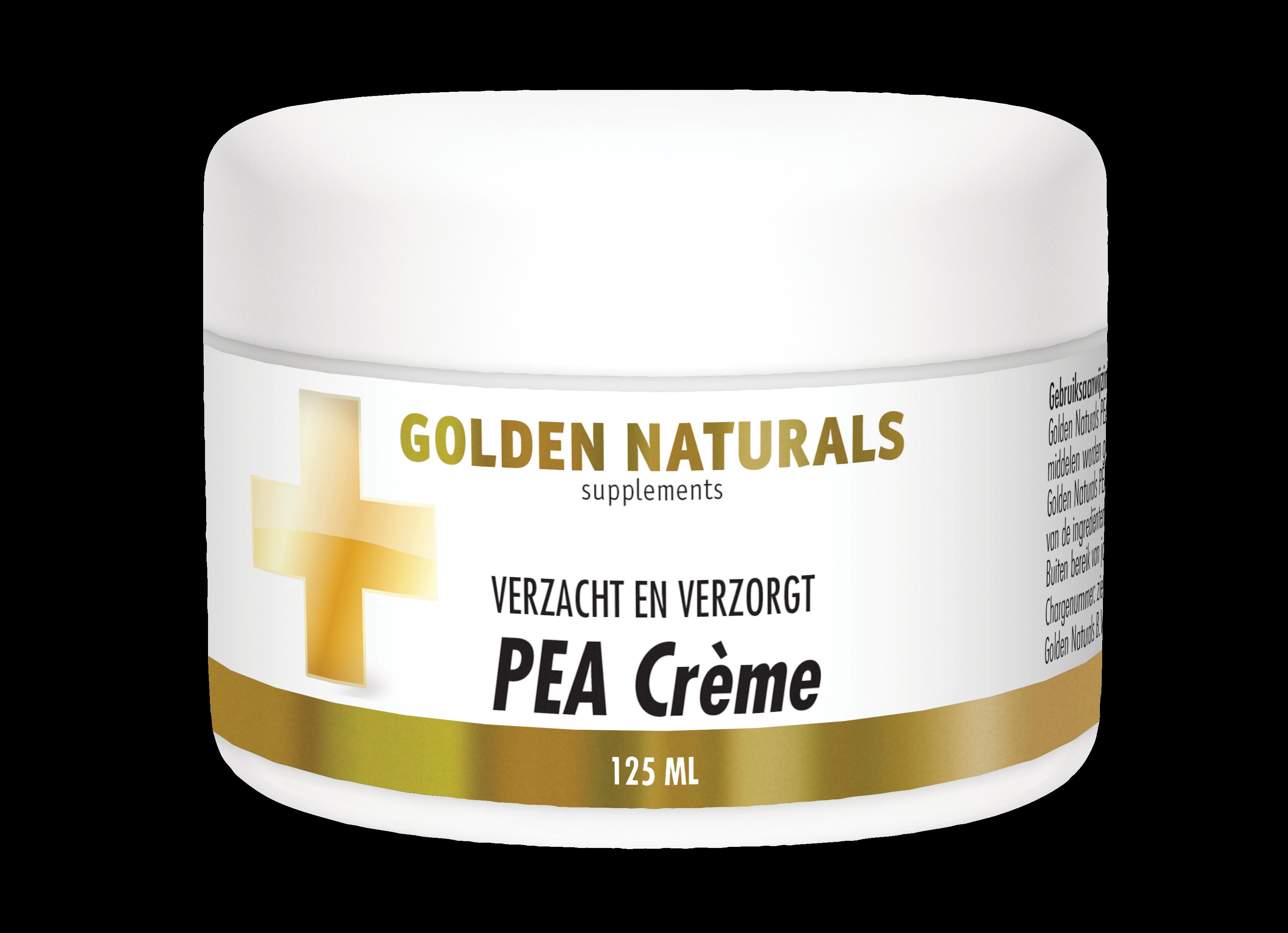 Golden Naturals PEA Crème (125 milliliter)