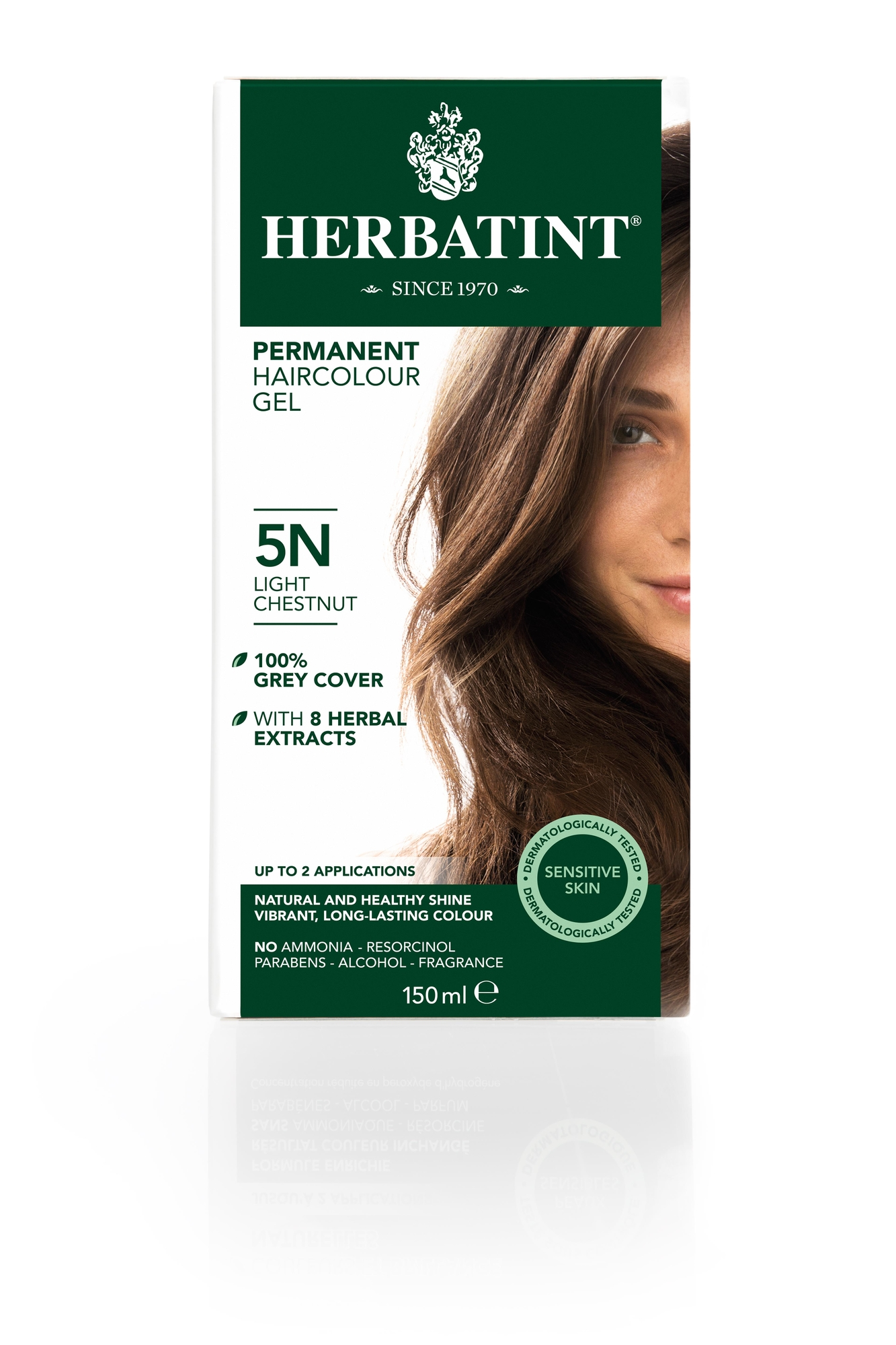 Herbatint 5N Light Chestnut (150 milliliter)