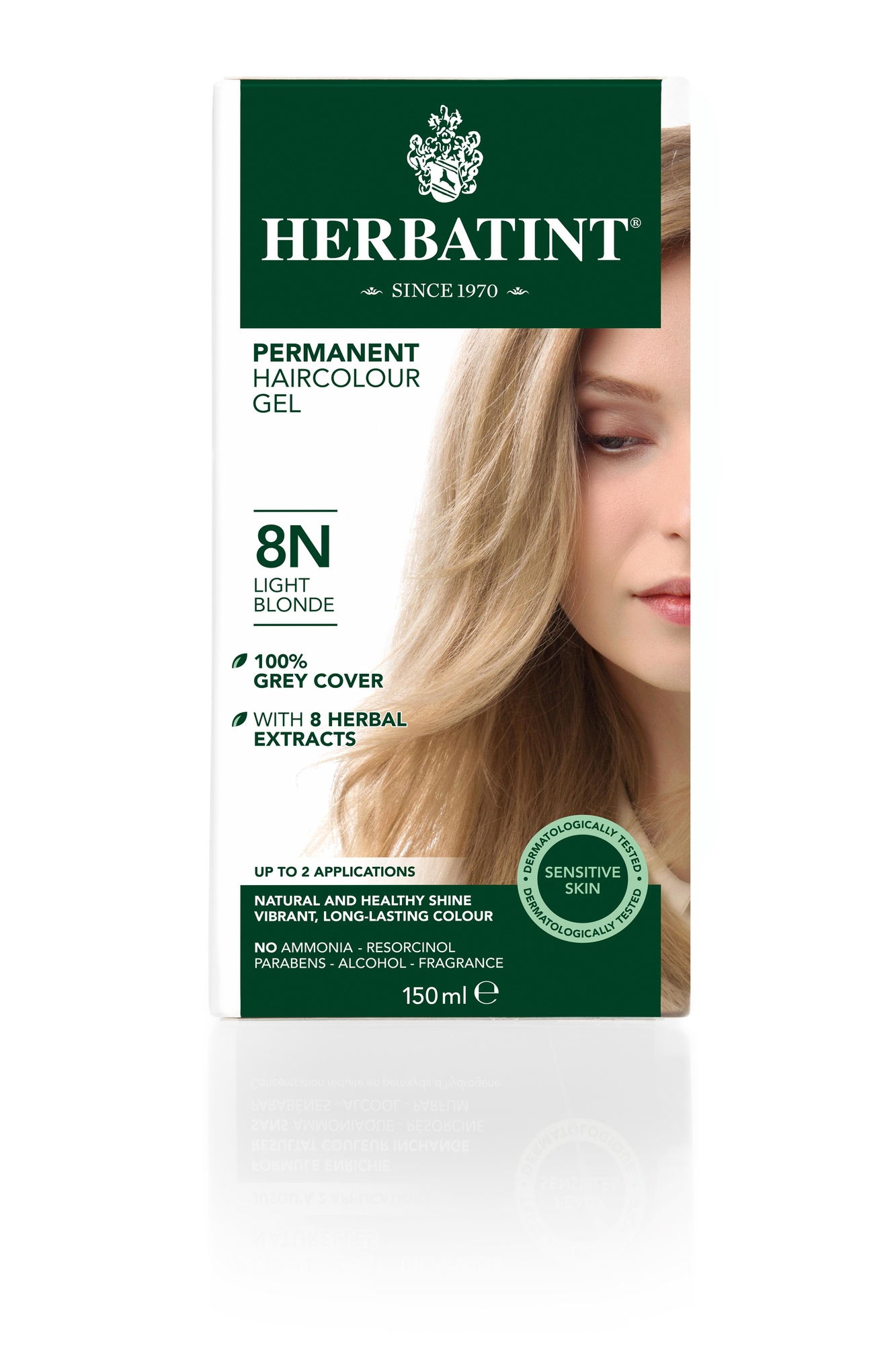 Herbatint 8N Light Blonde (150 milliliter)