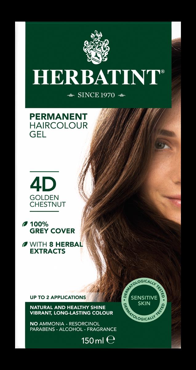 Herbatint 4D Golden Chestnut (150 milliliter)