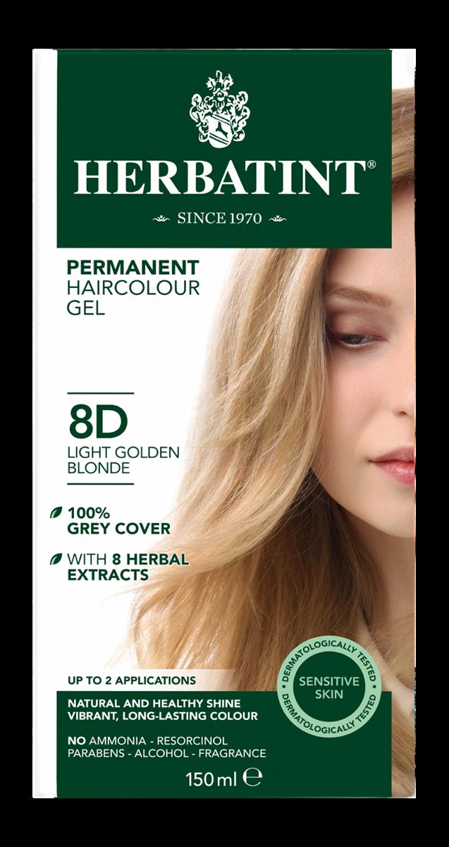Herbatint 8D Light Golden Blonde (150 milliliter)