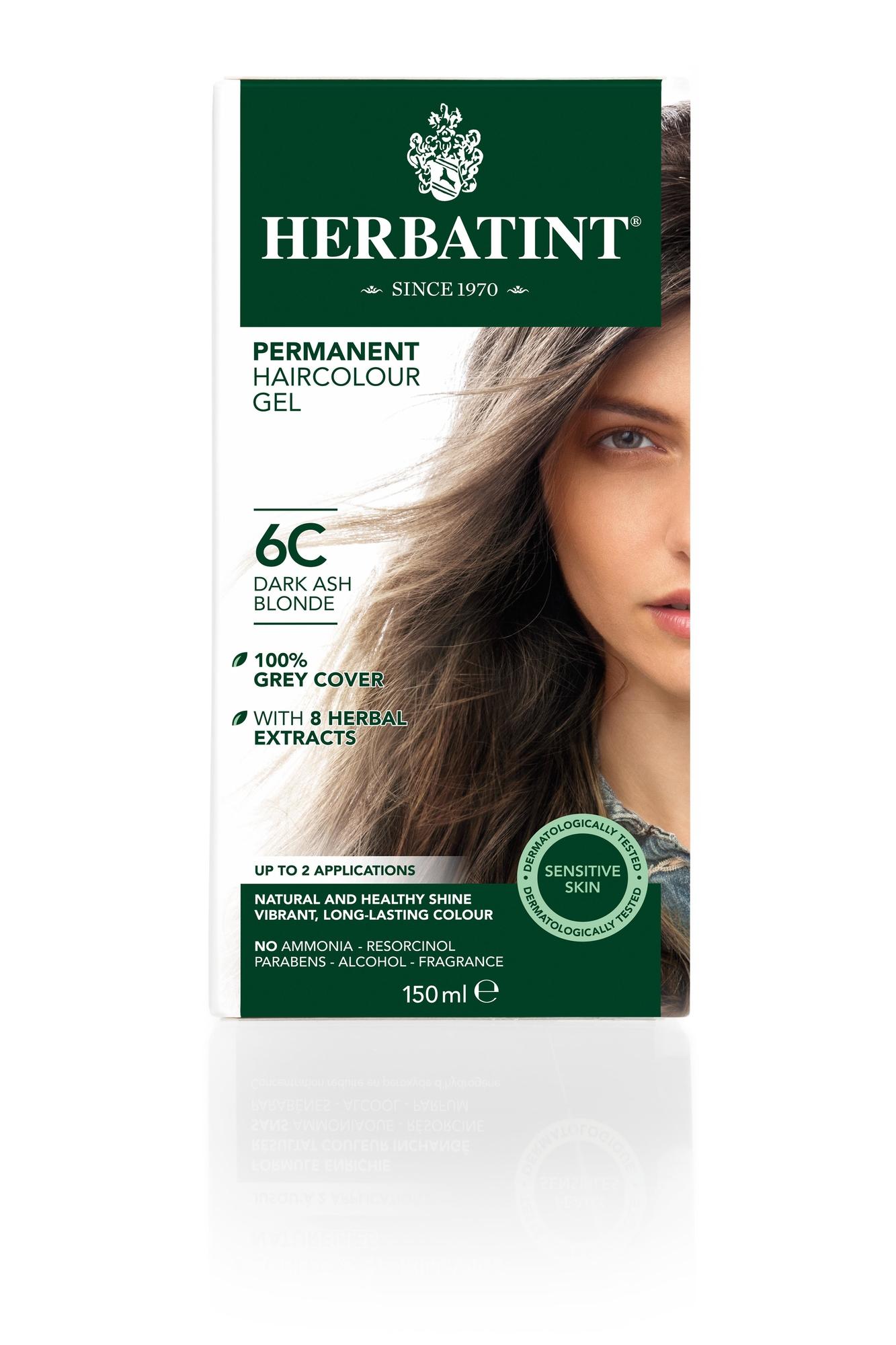 Herbatint 6C Dark Ash Blonde (150 milliliter)