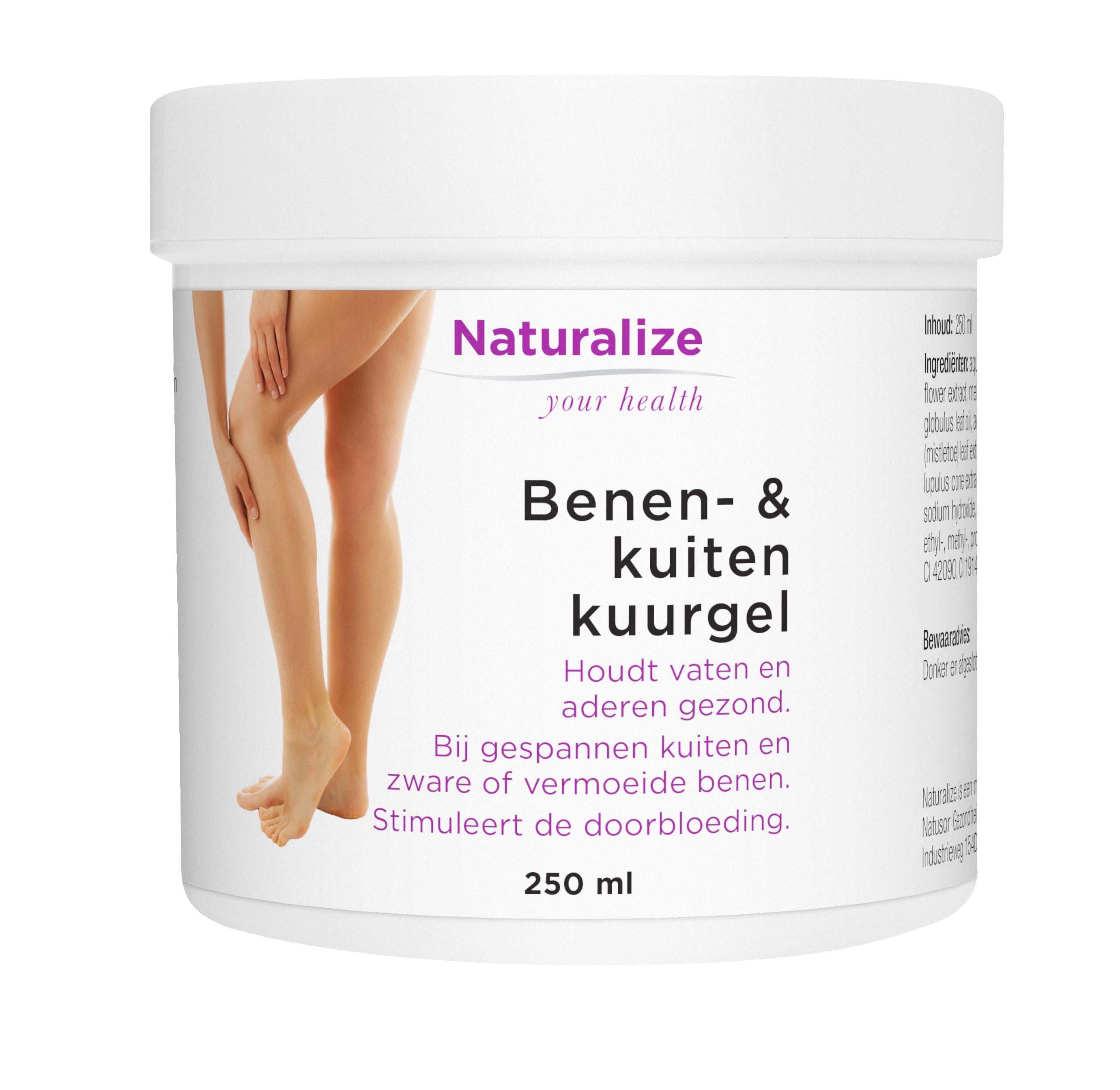 Naturalize Benen- & kuitenkuurgel (250 milliliter)