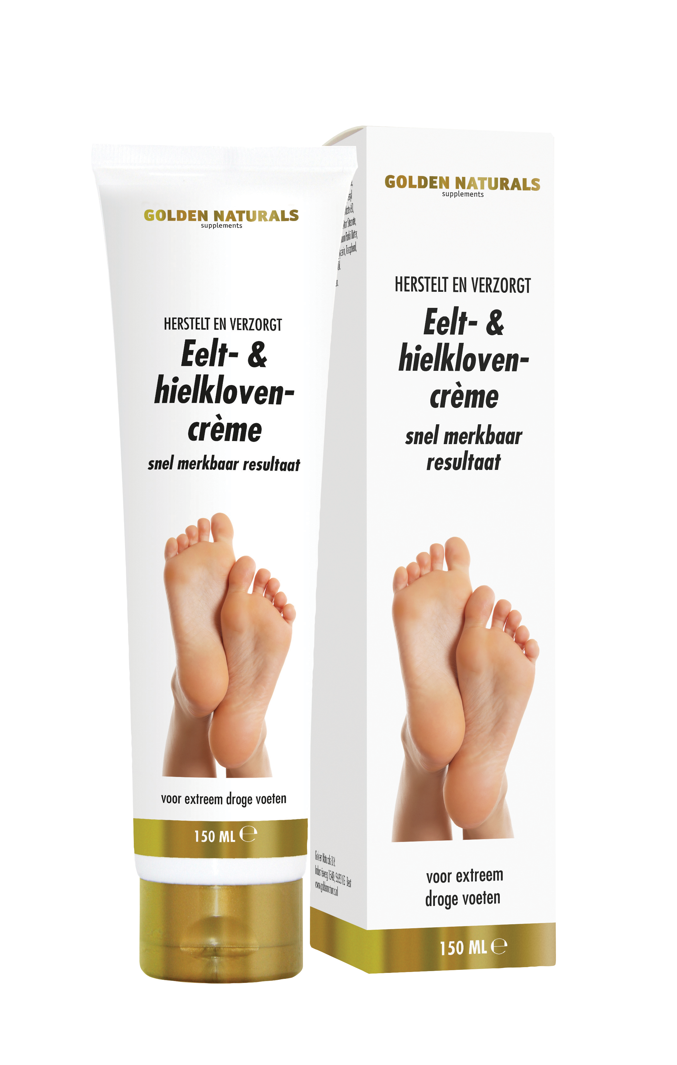 Golden Naturals Eelt- & hielklovencrème (150 milliliter)