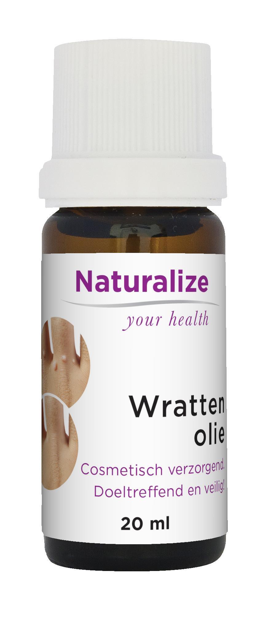 Naturalize Wrattenolie (20 milliliter)