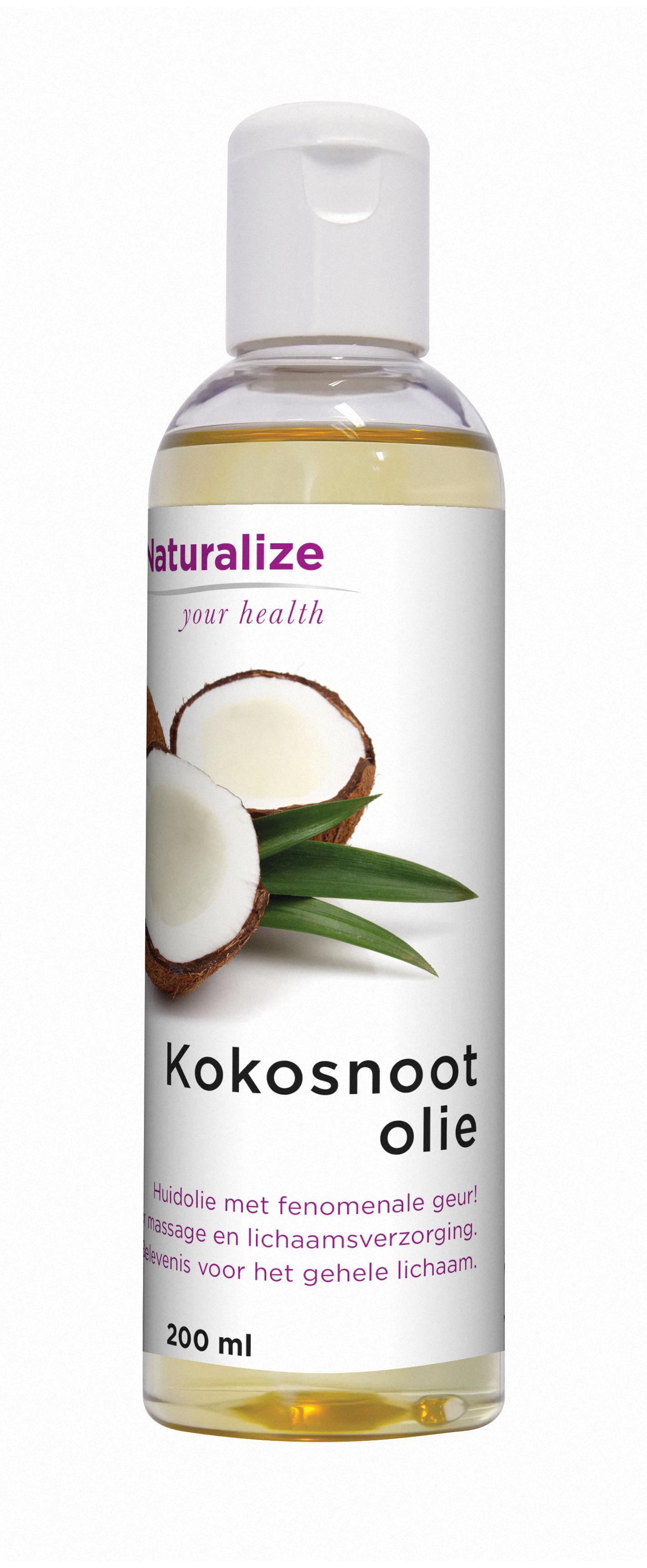 Naturalize Kokosnootolie (200 milliliter)