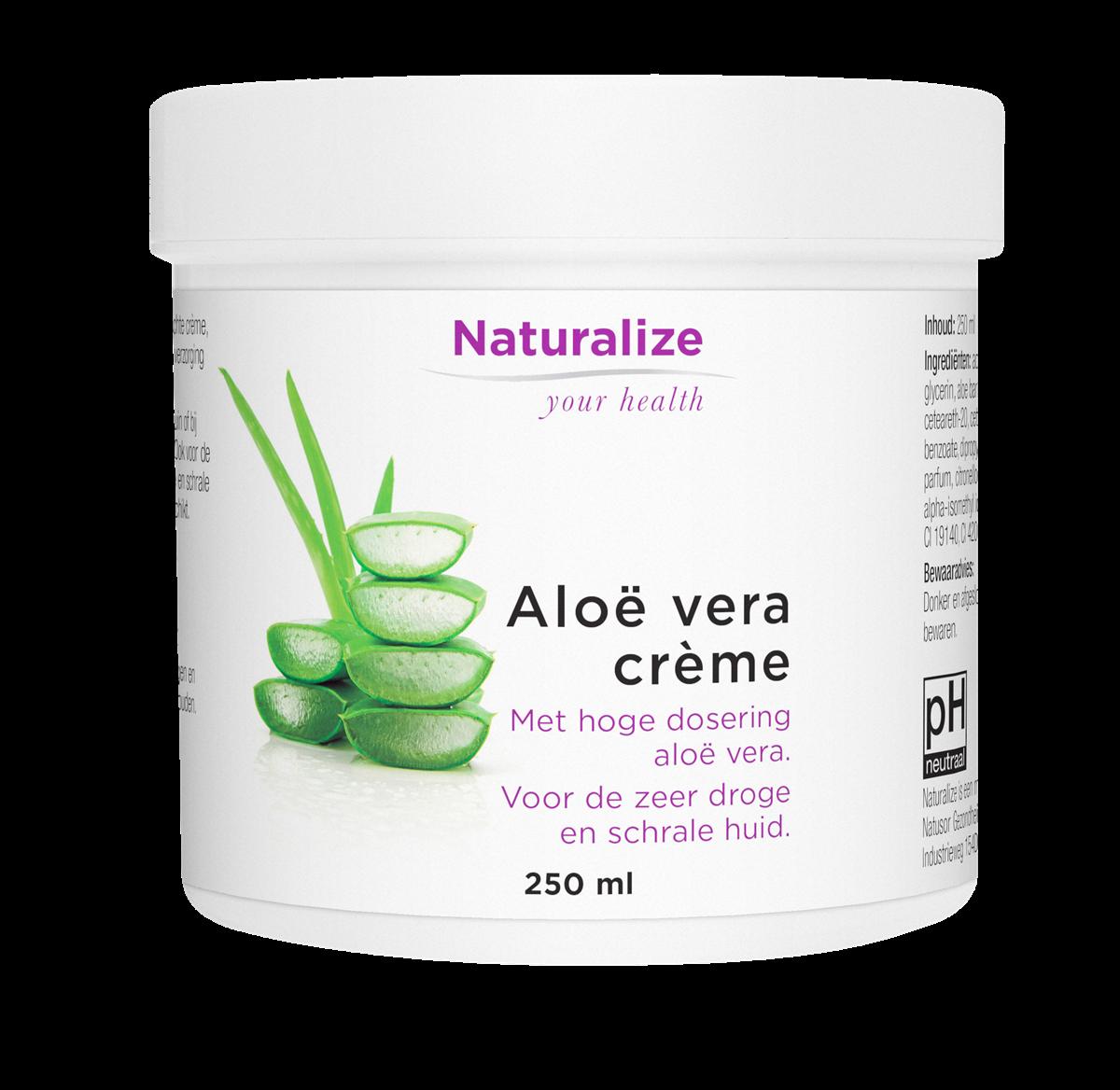 Naturalize Aloë vera-crème (250 milliliter)