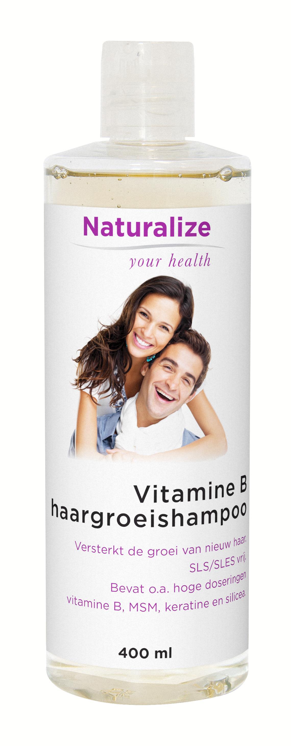 Naturalize Vitamine B-haargroeishampoo (400 milliliter)