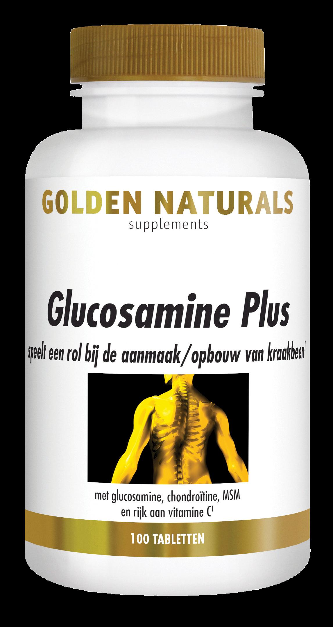 Golden Naturals Glucosamine Plus (100 tabletten)
