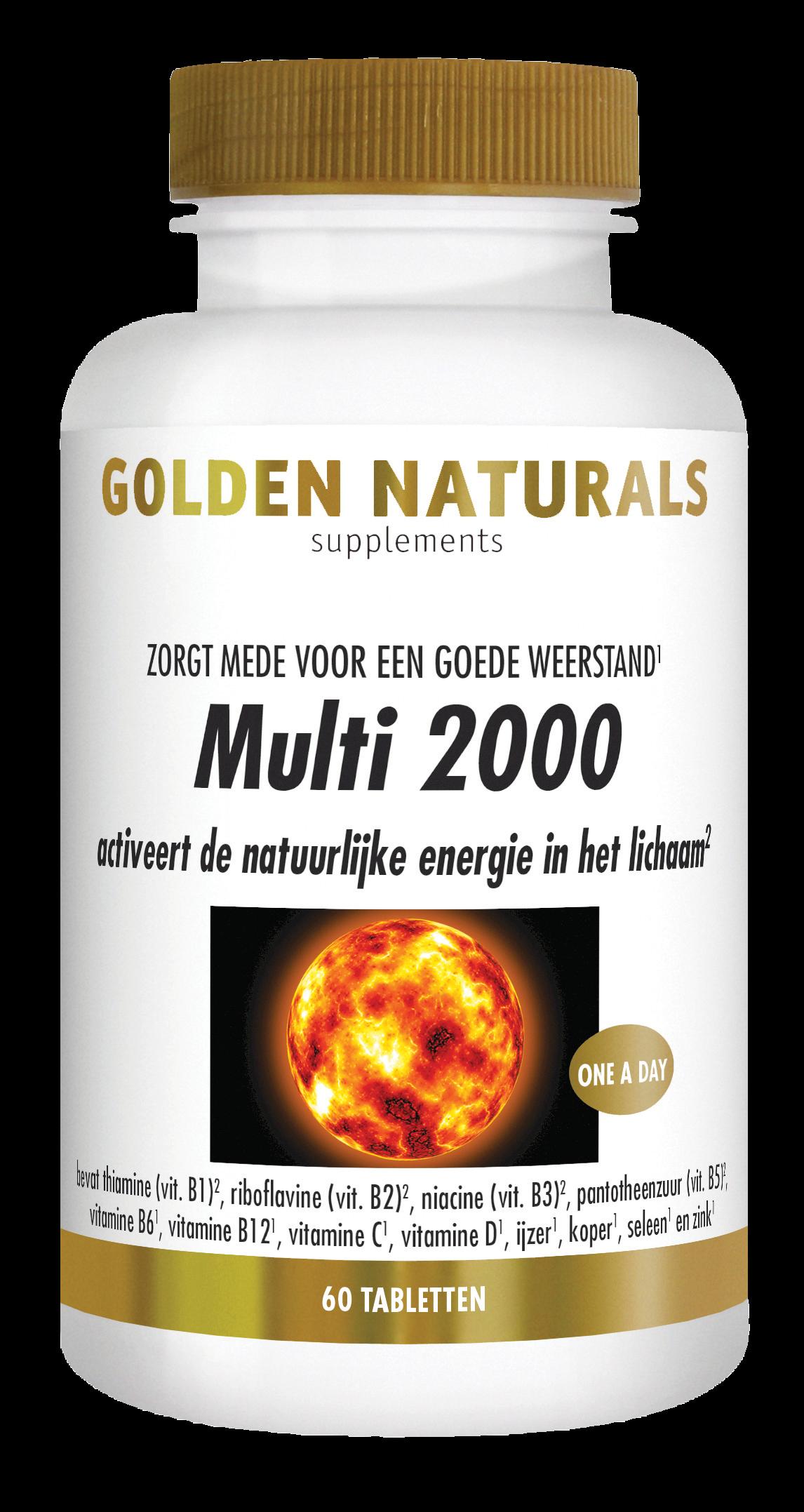 Golden Naturals Multi 2000 (60 tabletten)