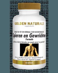 Golden Naturals Spieren & Gewrichten 60 capsules