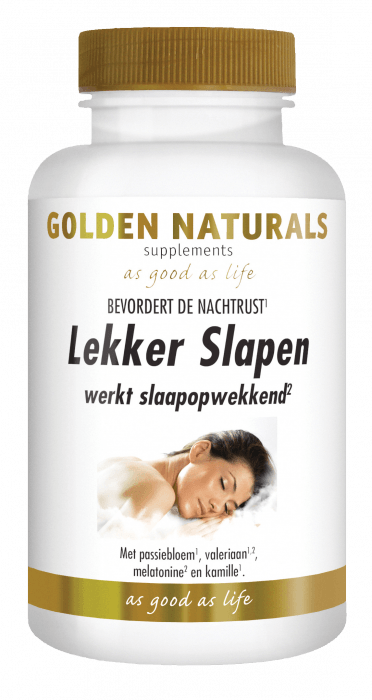 Golden Naturals Lekker Slapen 60 capsules