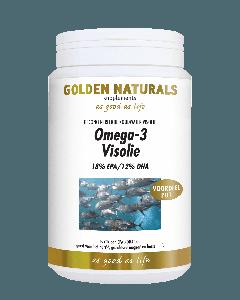 Golden Naturals Omega-3 Visolie 500 capsules