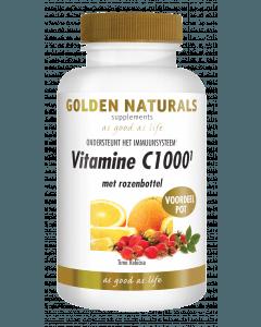 Golden Naturals Vitamine C1000 Rozenbottel 250 tabletten