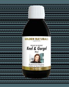 Golden Naturals Keel & Gorgel Elixer 250 milliliter