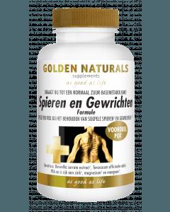 Golden Naturals Spieren & Gewrichten 180 capsules