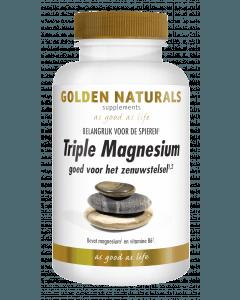 Golden Naturals Triple Magnesium 60 tabletten