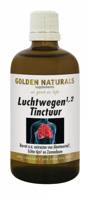 Golden Naturals Luchtwegen Tinctuur 100 milliliter
