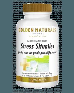 Golden Naturals Stress Situaties 60 capsules
