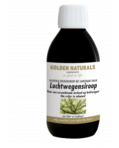 Golden Naturals Luchtwegensiroop 200 milliliter