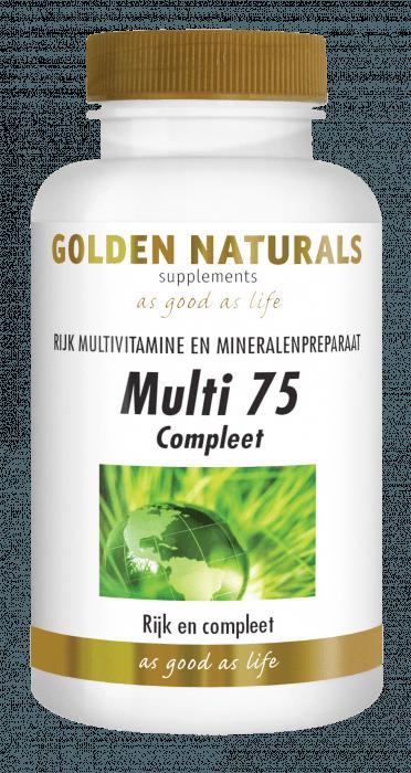 Golden Naturals Multi 75 30 tabletten
