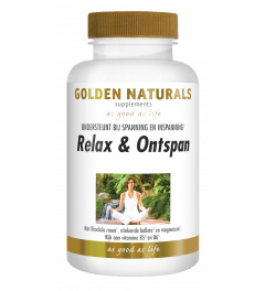Golden Naturals Relax & Ontspan 180 capsules
