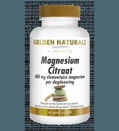 Golden Naturals Magnesium Citraat 60 tabletten