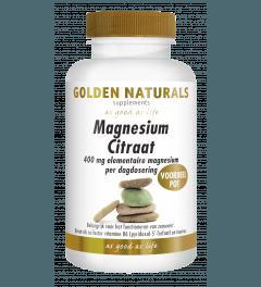 Golden Naturals Magnesium Citraat 180 tabletten