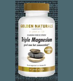 Golden Naturals Triple Magnesium 180 tabletten