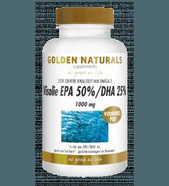 Golden Naturals Visolie EPA 50%/DHA 25% 1000 mg 180 capsules