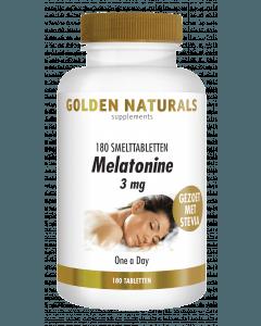 Golden Naturals Melatonine 3 mg 180 smelttabletten