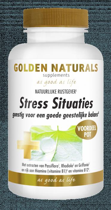 Golden Naturals Stress Situaties 180 capsules